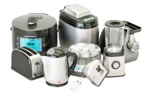 Diverse kjøkkenmaskiner